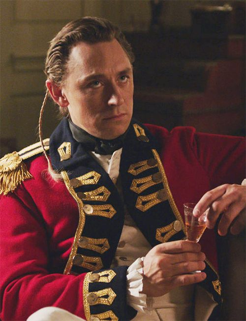 Major John Andre | TURN renewed for a second season!  | The Hollywood Reporter (Don't let JJ's signature annoyed look confuse you).