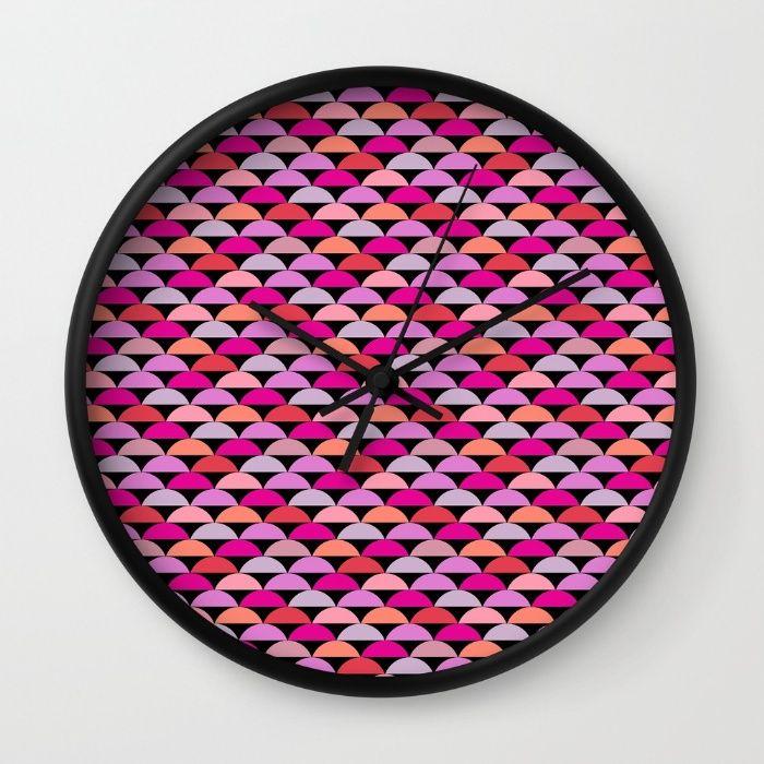 Retro Chic - Bright Wall Clock