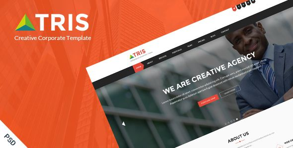 Tris - One Page Business Website PSD Template - Creative PSD Templates Download here : https://themeforest.net/item/tris-one-page-business-website-psd-template/20601055?s_rank=91