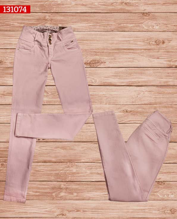 Pantalon-dama-color rosa-bota-recta-ref-131074- #fashion #women #ropademoda