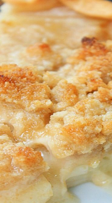 Amish Pear Crumb Pie                                                       …