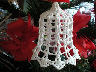 One hour Christmas bell ~ free pattern ᛡ