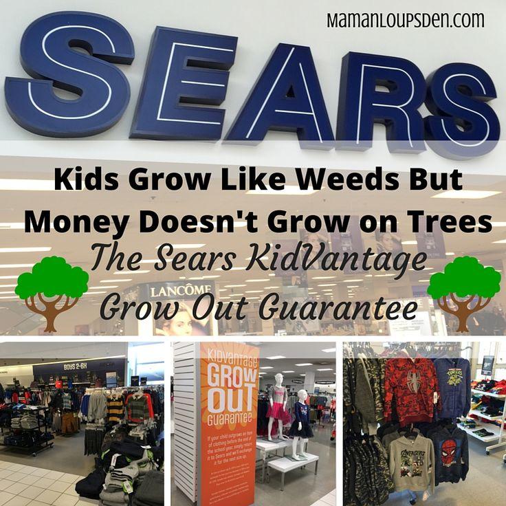 The KidVantage Grow Out Guarantee - Maman Loup's Den #SearsKidsRoom