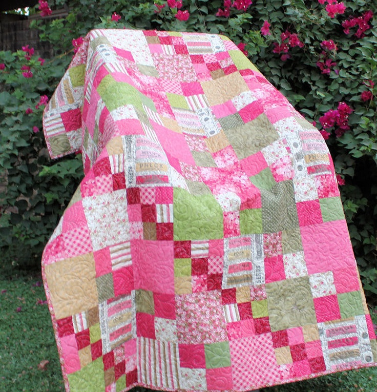 Pink Green On Pinterest: 1000+ Images About Pink And Green Quilts On Pinterest