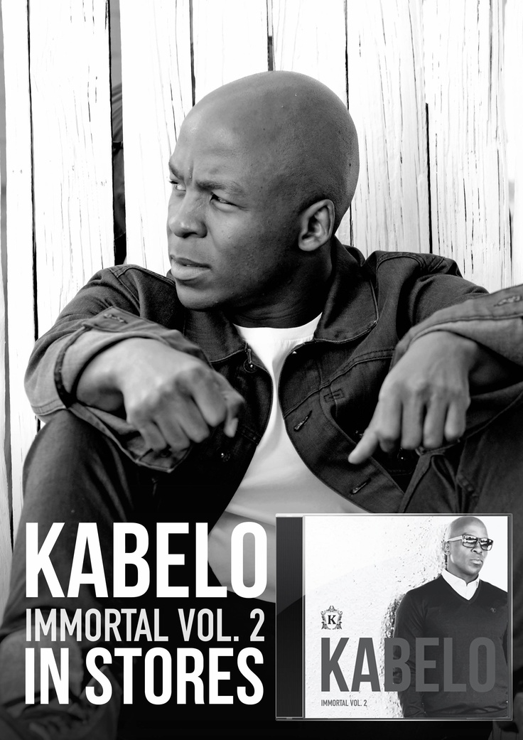"Kabelo Mabalane's ""Immortal Vol 2"" is in stores NOW!!!! Get yourself a copy! #PlayLOCALorDie"