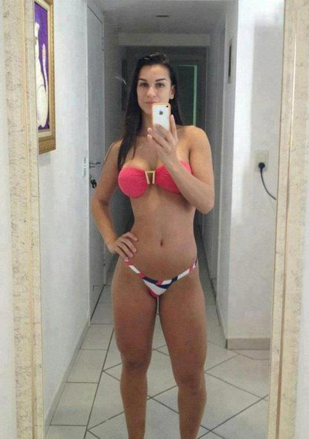 Sexy latina self pics