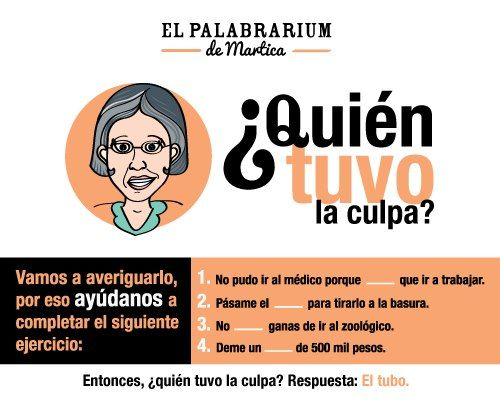 ¿Tubo o Tuvo? Estrategia en redes sociales para disfrutar del español.