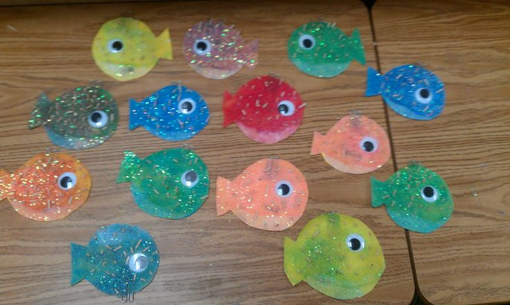 Pin by carol galagan on teaching school crafts projects for Puffer fish sand art
