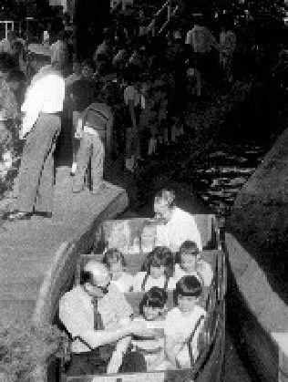 The River Caves Luna Park Melbourne -Demolished 1981