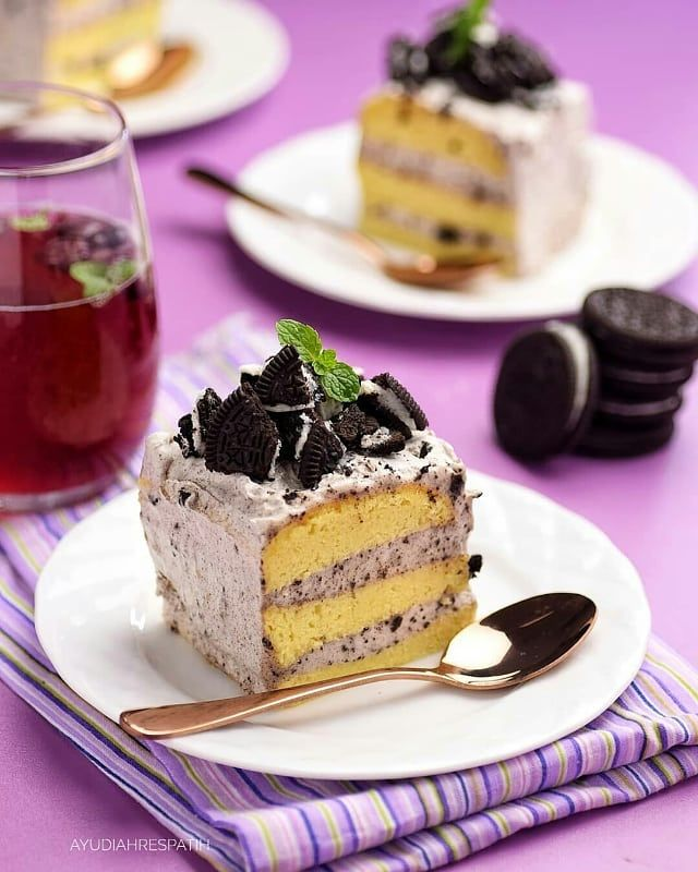 Mini Sponge Cake Oreo By Ayudiahrespatih Resep Sponge Cake Nya Dr Josephine Aslinya Ga Pake Krim Atau Oreo Sponge Resep Sponge Cake Oreo Cake Mini Cakes