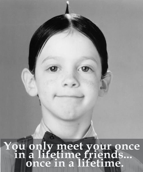 Be entertained, touched and laugh with this collection of the best Little Rascals Quotes and Sayings. Have fun and laugh out loud like the little rascals.