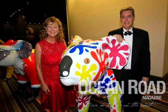 John & Julie Cox - Currumbin Wildlife Hospital Foundation Annual Gala Dinner — at Jupiters Gold Coast.