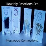"""Feel Your Feelings  Some children connect their feelings best with words, others like colors or drawing or music. This activity is for those kids who like different textures. After all, when describing how feelings how often are the words """"smooth"""" or """"prickly"""" used  Objectives:Identifying and Exploring Emotions, Perspective Taking, Social Skills"""