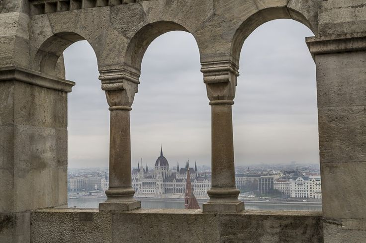 View from the Fishermen's Bastion on the Buda Hill