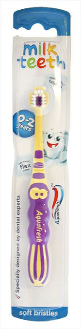 Aquafresh Milk Teeth Toothbrush 0-2 Years Aquafresh Milk Teeth Toothbrush 0-2 Years: Express Chemist offer fast delivery and friendly, reliable service. Buy Aquafresh Milk Teeth Toothbrush 0-2 Years online from Express Chemist today! (Barcode http://www.MightGet.com/january-2017-11/aquafresh-milk-teeth-toothbrush-0-2-years.asp