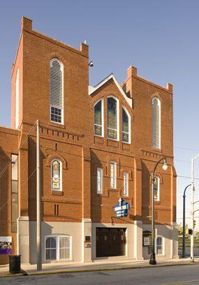 Ebenezer Baptist Church was Dr. Martin Luther King, Jr.'s childhood church. It's located in Atlanta, Georgia.