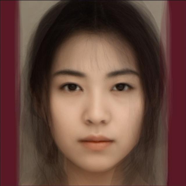 asian female facial features