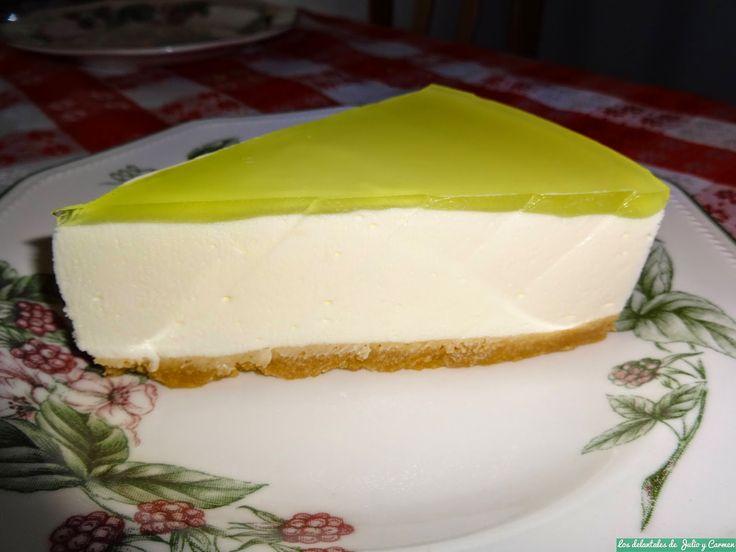 Tarta mousse de limón   Cocinar en casa es facilisimo.com