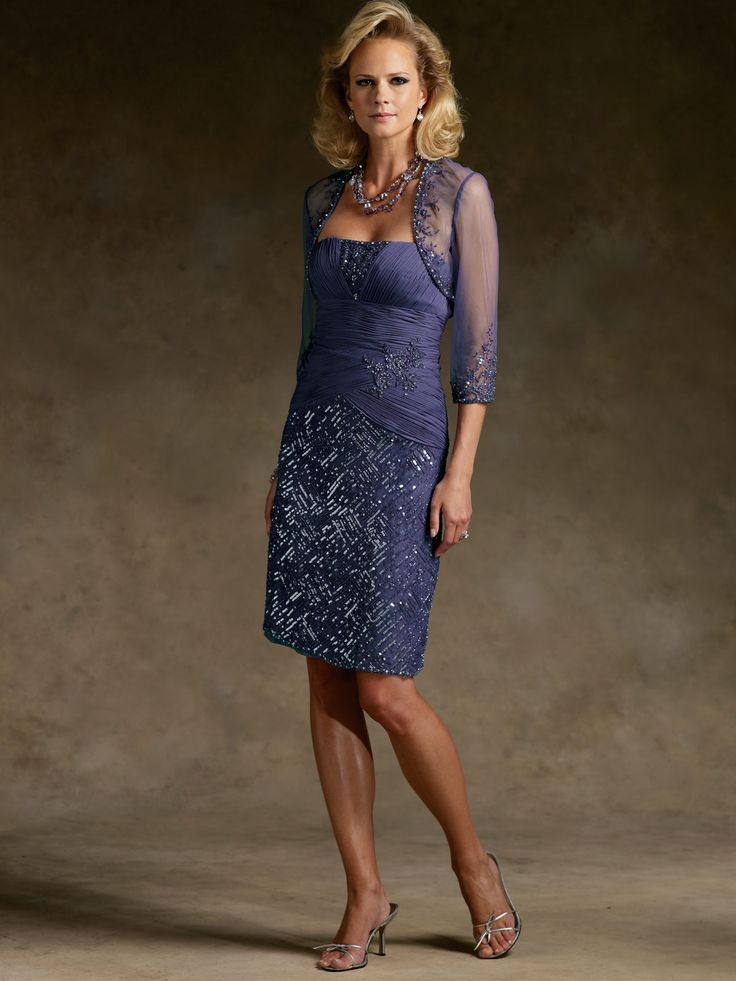 knee length mother of the bride dress.......or maybe this one too!