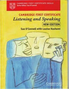 Download free books in English: Cambridge First Certificate Listening and Speaking...