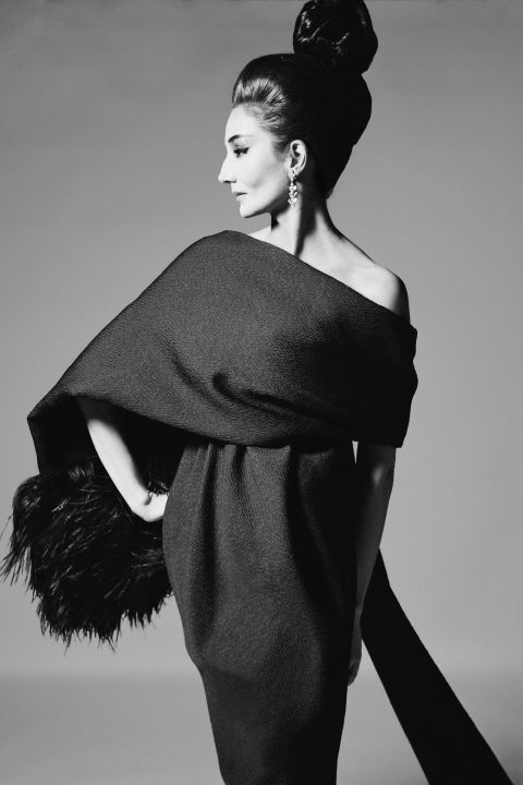 This year's fall costume exhibit at the MET will feature pieces from Jacqueline De Ribes' personal archive.