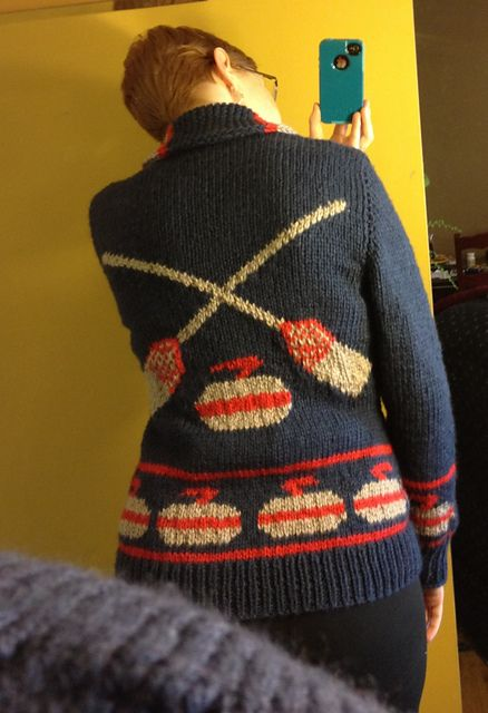 Ravelry: Cheryl21's Curling Sweater