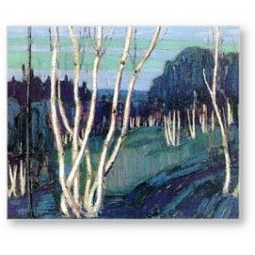 Tom Thomson - Silver Birches The Group of Seven