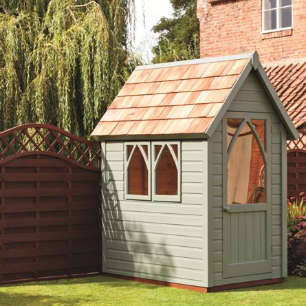 Garden Paint Ronseal Willow A Really Neat Colour For