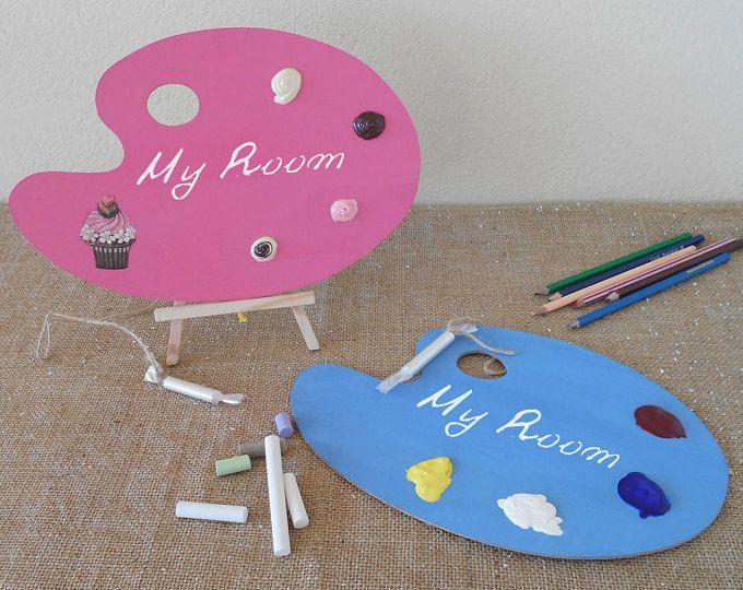 Back to school - Kids Door Sign - Kids Room Decor - Custom Sign - Kids Gift - School chalkboard - Girls Room Door - Boys Room Door - ArtFly