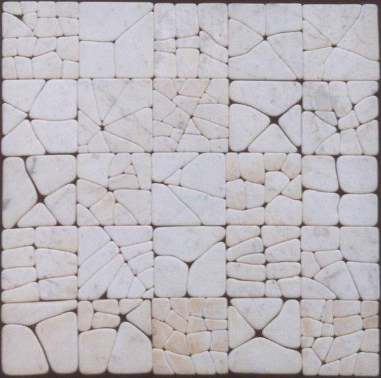 Nico Kok - Marble tiles tableau 2