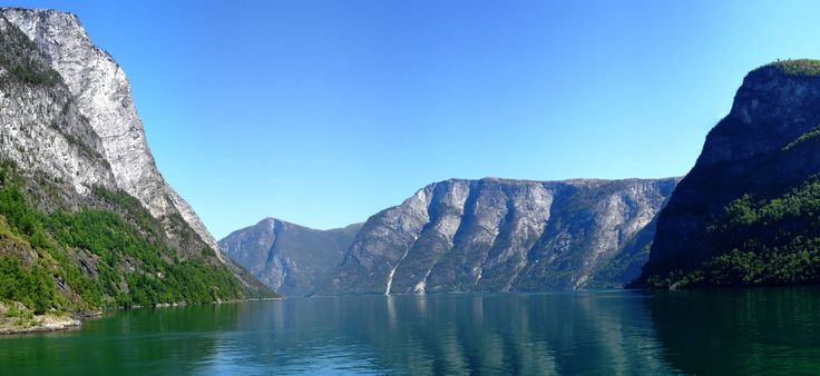 Aussicht am Loen, Norwegen