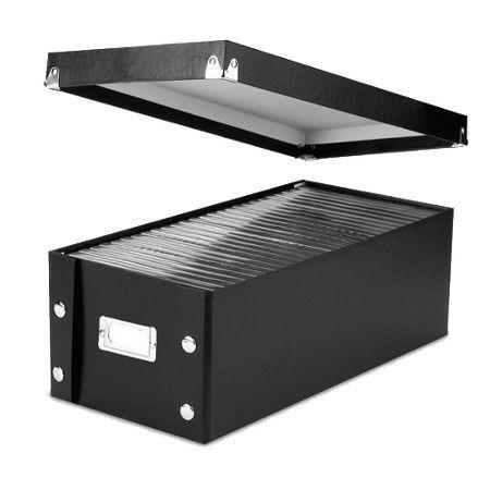 Vaultz Black 2-pk. DVD Storage Box : Target