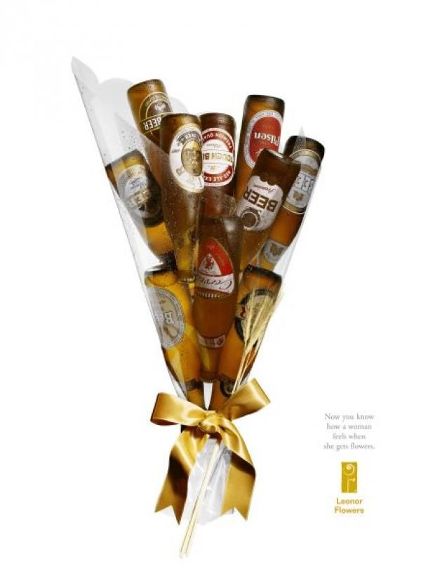 Beer Bouquet for your beer lover. Who needs flowers?