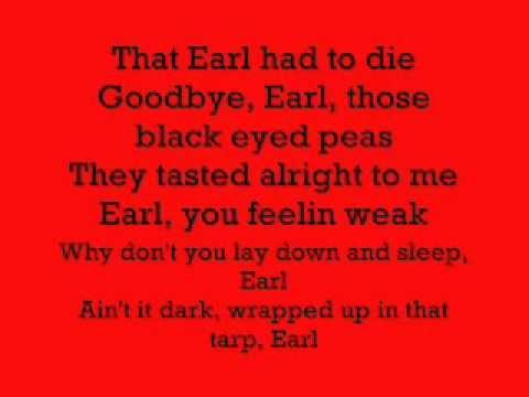 Lyrics to good bye earl