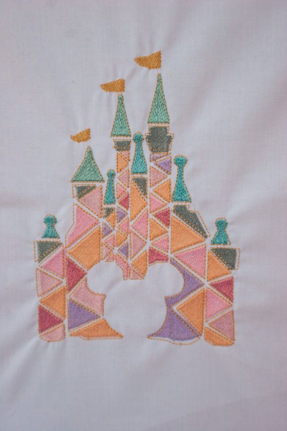 Our new disney inspires pastel castle is brilliant for little girls. Bring some magic to their nursery, and you can git it personalised! https://www.etsy.com/uk/listing/279594894/castle-disney-mickey-mouse-embroidery?ref=shop_home_feat_3