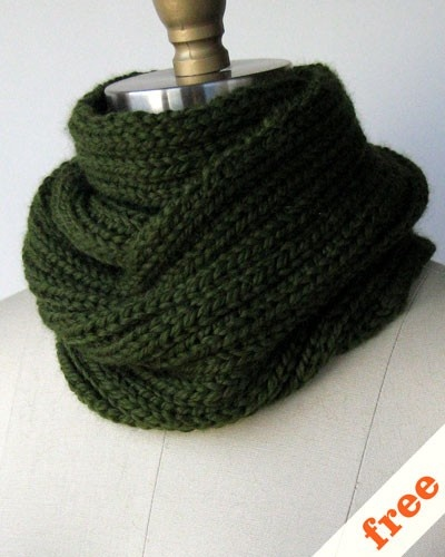 Free Knitted Cowl Patterns Pinterest : Double Wrap Cowl Free Knitting Patterns (Cowls) Pinterest Free pattern,...