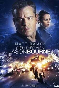 Jason Bourne, now remembering who he truly is, tries to uncover hidden truths about his past.  DirectorPaul Greengrass Cast Matt Damon, Tommy Lee Jones, Alicia Vikander GenreAction, Thriller Release Date 29.07.2016