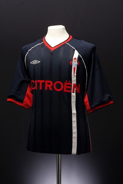 Celta Vigo Football Shirt (away, 2001-2003)