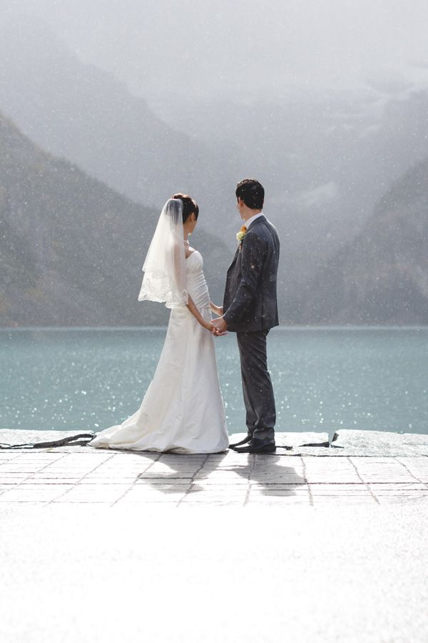 Lake Louise Wedding Photographers Chateau Lake Louise