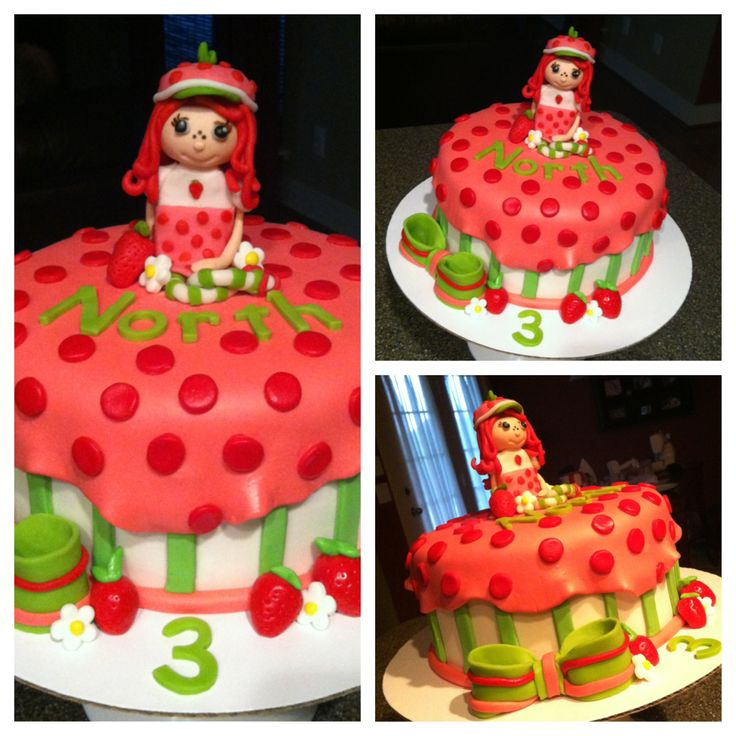 Strawberry Shortcake Cake X