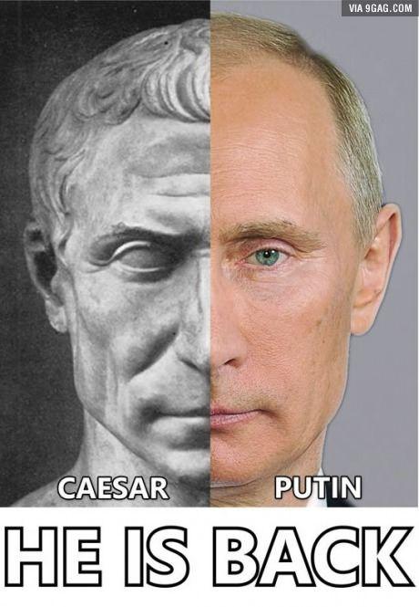 He is back!  #Putin #ilikePutin  #Russia