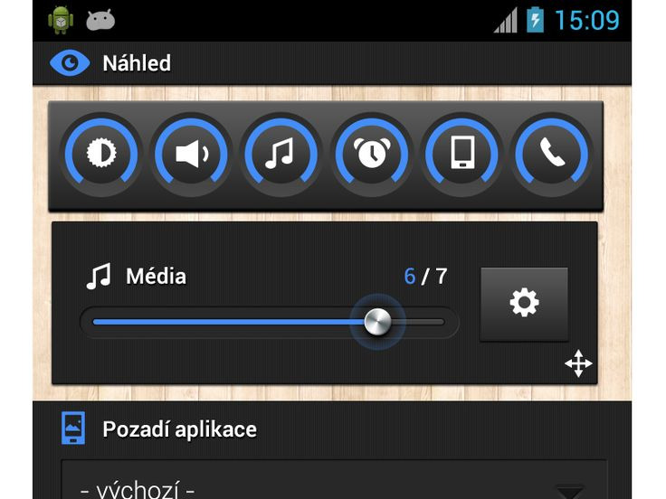 Color settings UI/UX - Smart Volume Control by Petr | Direct-services