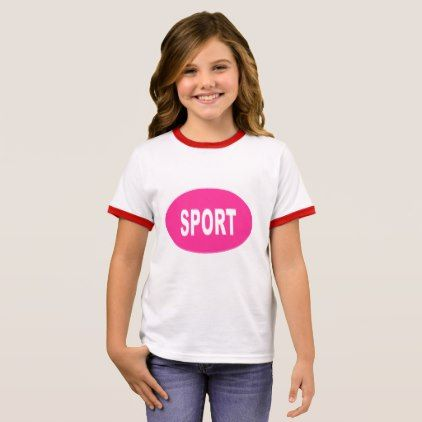 TEE-SHIRT    SPORT   CANDY RINGER T-Shirt - girl gifts special unique diy gift idea
