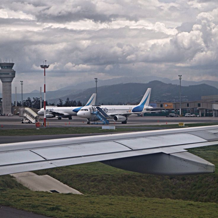 A 320 of TAME at Quito Airport