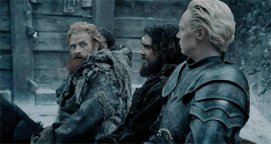 It was true love on 'Game of Thrones' when Brienne caught Tormund's eye. We caught up with actor Kristofer Hivju to find out the characters' shipper name. HaHa, Love it! #GoT #GameofThrones