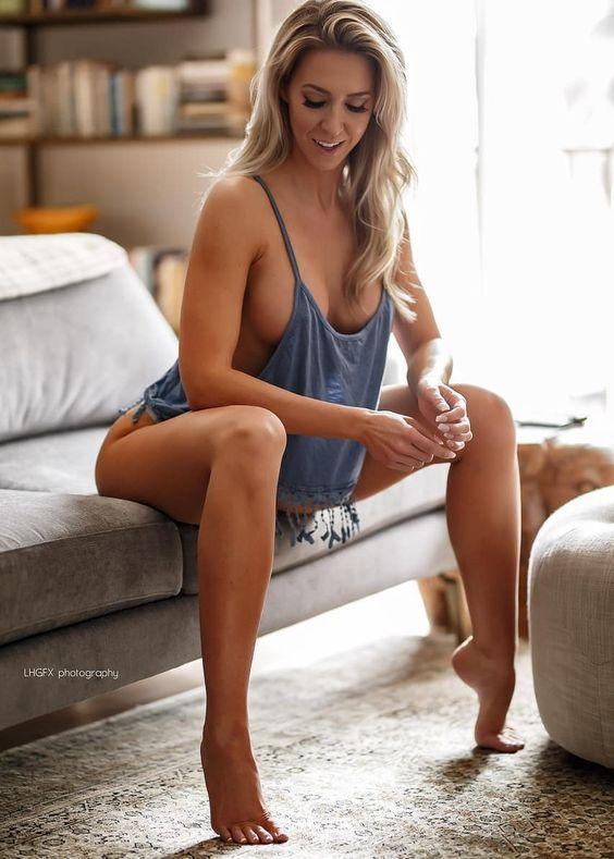 Fine ass blonde — pic 7