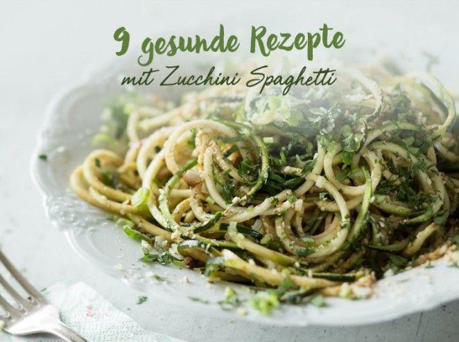 1000+ ideas about Zucchini Spaghetti Rezept on Pinterest | Spaghetti ...