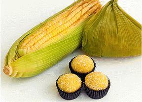 Brigadeiro de milho