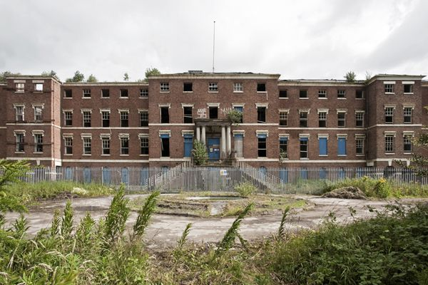 Staffordshire County Asylum (St Georges hospital)