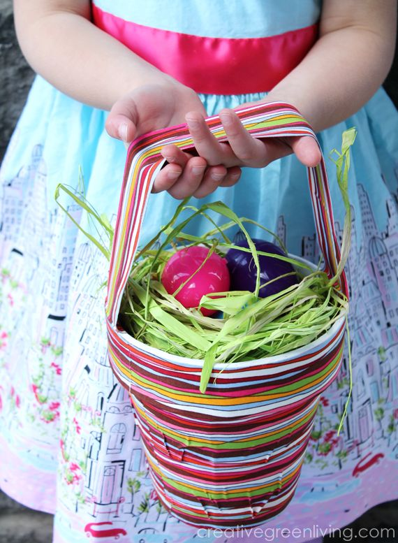 How to make a Duck Tape Easter Basket